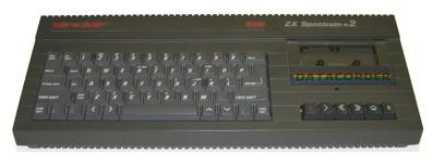 ZX Spectrum2 con casetero incorporado