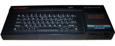 ZX Spectrum3 con disquetera incorporada